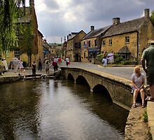 River Windrush in the Cotswolds by Mark Johnson
