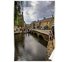River Windrush in the Cotswolds Poster