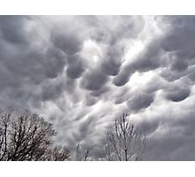 Morning Storm Clouds Photographic Print