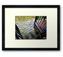 Speed - The White Pass Railroad Framed Print