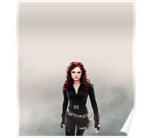lydia as black widow Poster