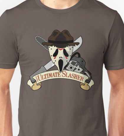 The Ultimate Slasher Villian Unisex T-Shirt