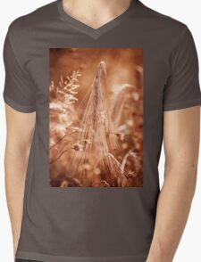 Golden old withered cereal ear  Mens V-Neck T-Shirt