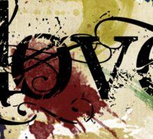 Parchment Love Sticker