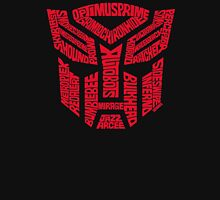Transformers Autobots Red T-Shirt