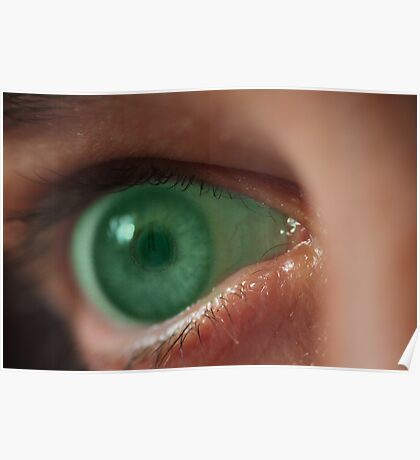 Turn off this green eyed monster! Poster