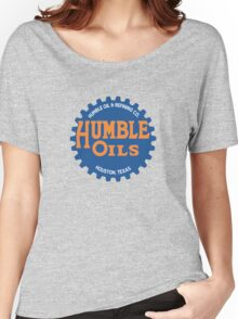 Humble Oil Gas Station Women's Relaxed Fit T-Shirt