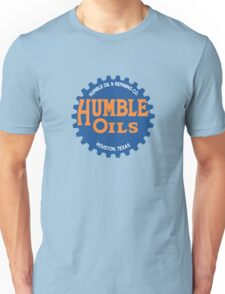 Humble Oil Gas Station Unisex T-Shirt