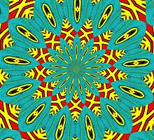 Turquoise and Red are in my Head by Sarah Curtiss