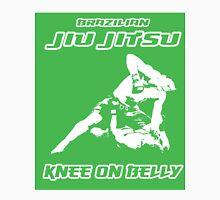 Brazilian Jiu Jitsu Knee On Belly Green  T-Shirt
