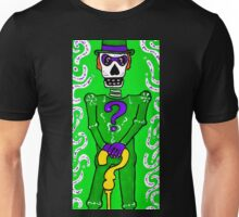 The Riddler Day of the Dead Unisex T-Shirt