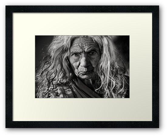 Woman portrait  by Mark Smart