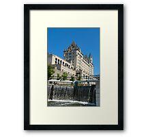 Ottawa Locks Framed Print