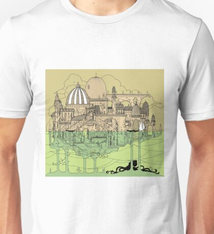 City in Water Unisex T-Shirt