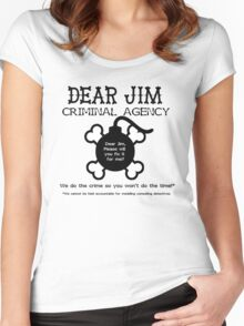 Dear Jim Women's Fitted Scoop T-Shirt