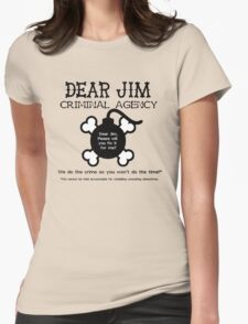 Dear Jim Womens Fitted T-Shirt