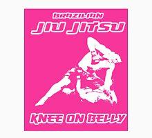 Brazilian Jiu Jitsu Knee On Belly Pink T-Shirt