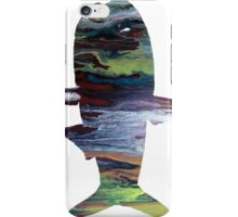 anchovy silhouette iPhone Case/Skin