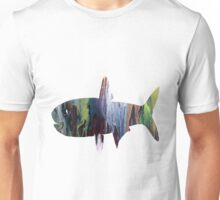 anchovy silhouette Unisex T-Shirt