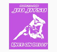 Brazilian Jiu Jitsu Knee On Belly Purple  T-Shirt