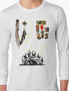 IMMORTAN JOE CHEST ARMOR  HALLOWEEN COSTUME MAD MAX Long Sleeve T-Shirt