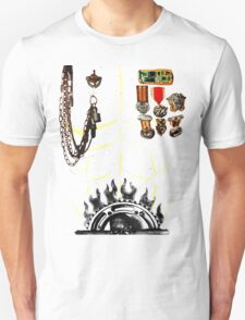 IMMORTAN JOE CHEST ARMOR  HALLOWEEN COSTUME MAD MAX Unisex T-Shirt