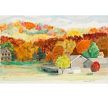 Fall Colors in Rural Arkansas Photographic Print