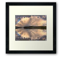 Brush Stroke - Narrabeen Lakes,Sydney - The HDR Experience Framed Print