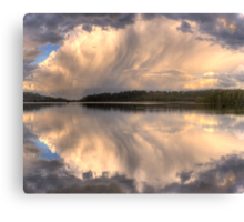 Brush Stroke - Narrabeen Lakes,Sydney - The HDR Experience Canvas Print