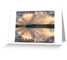 Brush Stroke - Narrabeen Lakes,Sydney - The HDR Experience Greeting Card
