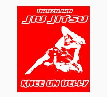 Brazilian Jiu Jitsu Knee On Belly Red  T-Shirt