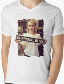 surprise bitch Mens V-Neck T-Shirt