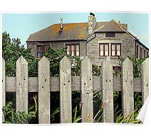 Minack House (Rowena Cade home) Poster