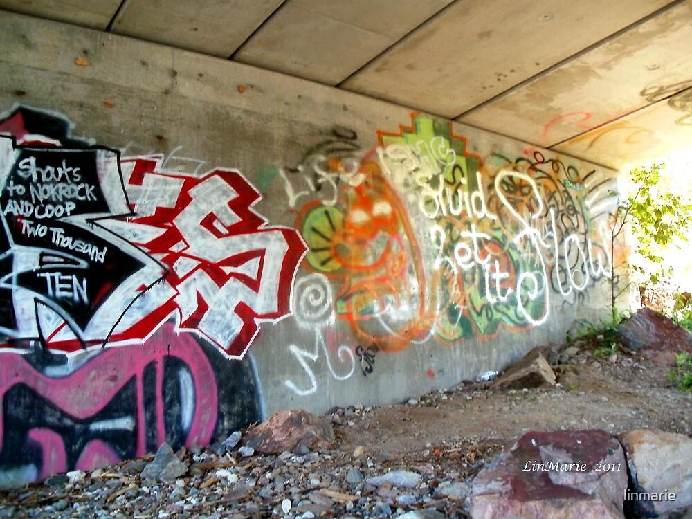 Under the Bridge Art.. by linmarie