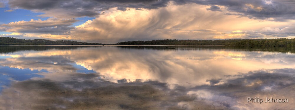 Melted Icecream - Narrabeen Lakes, Sydney Australia - The HDR Experience by Philip Johnson