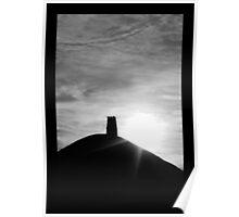 Glastonbury Tor Poster