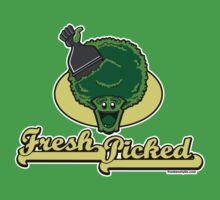 Fresh Picked Broccoli Kids Tee