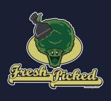 Fresh Picked Broccoli Kids Tee