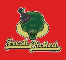 Fresh Picked Broccoli One Piece - Long Sleeve