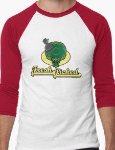 Fresh Picked Broccoli Men's Baseball ¾ T-Shirt