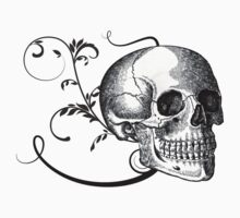 Skull & Swirls by Elizabeth Burton