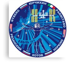 Expedition 37 Mission Patch Canvas Print