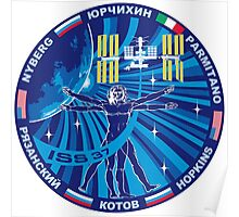 Expedition 37 Mission Patch Poster