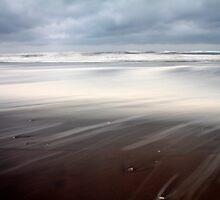 stormy beach by RPAspey
