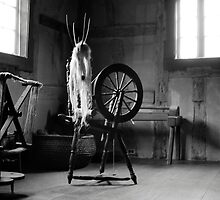 Spinning Wheel, Plow Tavern York PA by RPAspey