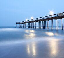 Pier at Dusk, Ocean City Md by RPAspey