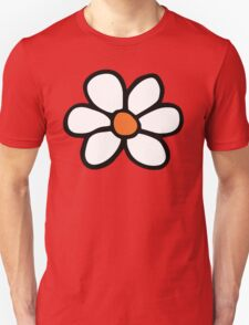 Hippie flower cartoon Unisex T-Shirt