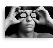 Swimmer in Thought Canvas Print