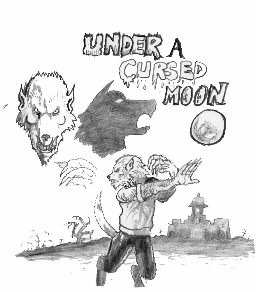 Under a cursed moon by mattycarpets