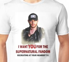 I want YOU for the spn fandom Unisex T-Shirt